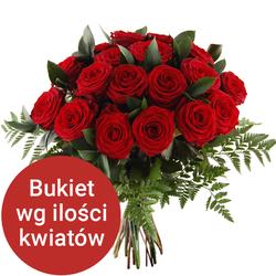 Bukiet 9 róż Telekwiaciarnia