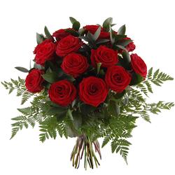 Bukiet czerwone róże